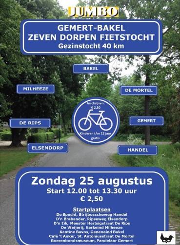 Zeven dorpen fietstocht