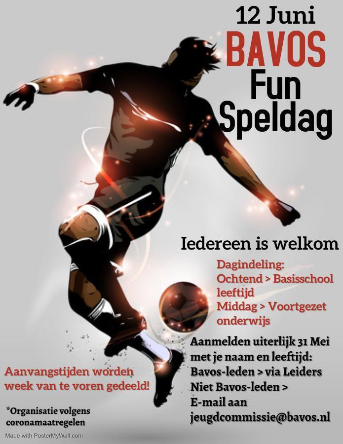 Bavos Fun Speldag 12 juni 2021