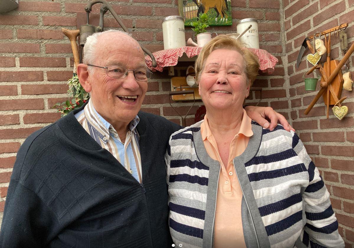 60 jaar getrouwd 70 jaar Bavos lid